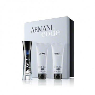 Giorgio Armani Lote ARMANI CODE FEMME Eau de parfum Vaporizador 75 ml + Loción Corporal 75 ml + Gel baño 75 ml