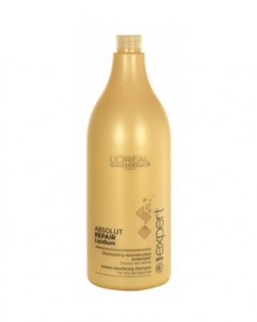 L´Oreal Professionnel ABSOLUT REPAIR LIPIDIUM Shampooing Reconstructeur Champú 1500 ml