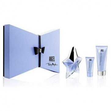 Thierry Mugler Lote ANGEL Eau de parfum Vaporizador 25 ml + Gel 30 ml + Loción corporal 100 ml