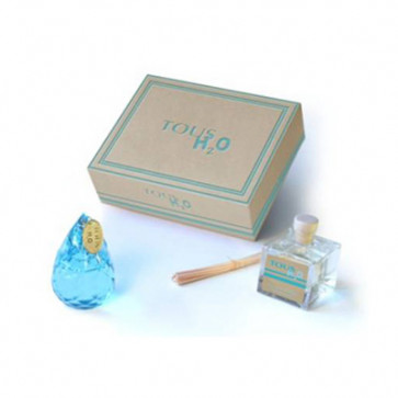 Tous Lote H2O Eau de toilette Vaporizador 50 ml + Ambientador de Palitos de Madera