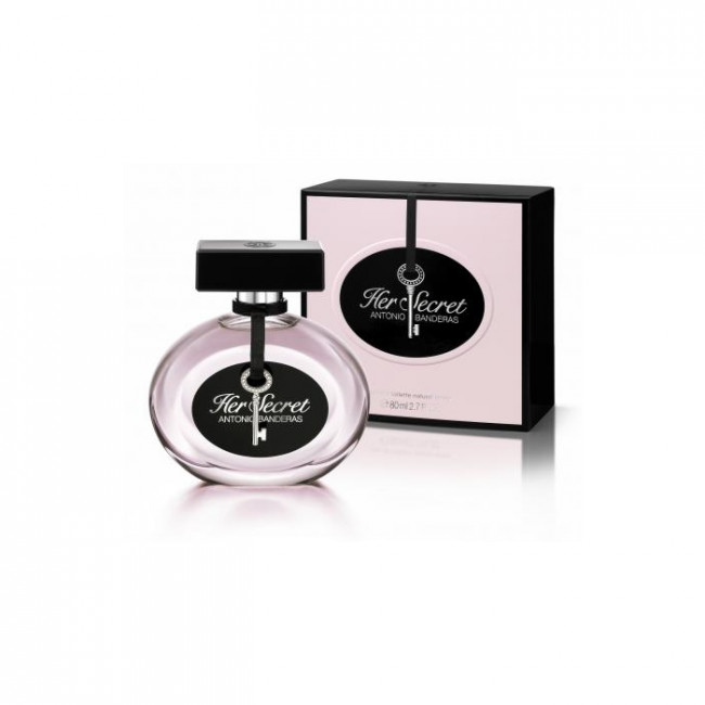 Antonio Banderas HER SECRET Eau de toilette 80 ml