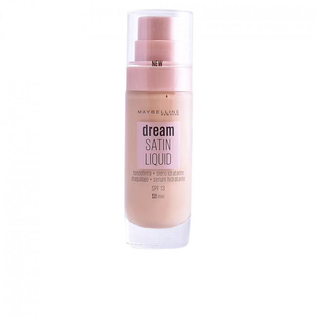 ebe62ae27 Maybelline DREAM SATIN LIQUID FOUNDATION+SERUM 45 Honey 30 ml