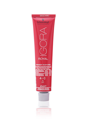 Comprar Schwarzkopf IGORA ROYAL 4-0 Crema de coloración permanente 60 ml