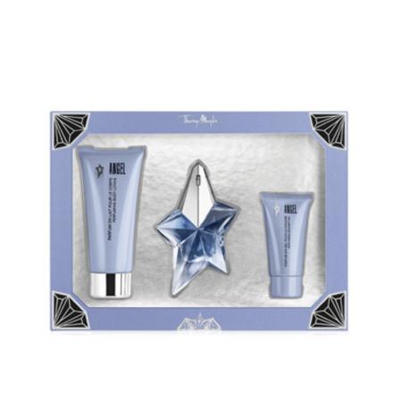 Thierry Mugler Lote ANGEL Eau de parfum Vaporizador 25 ml + Gel de ducha 30 ml + Leche corporal 100 ml