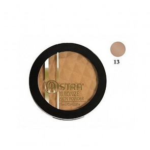 Astra Bronze Skin Powder Terra Compatta - 13 Sabbia dore