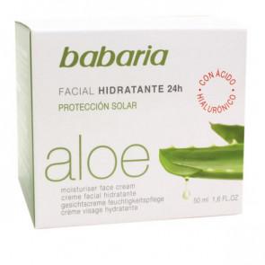 Babaria ALOE Facial Hidratante 24h 50 ml