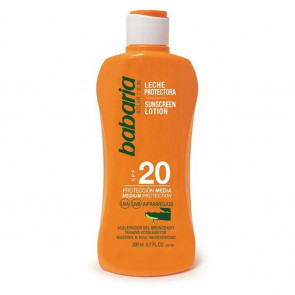 Babaria Leche protectora SPF20 Aloe Vera 200 ml