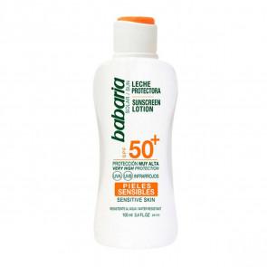 Babaria Leche Protectora SPF50 Pieles Sensibles 100 ml