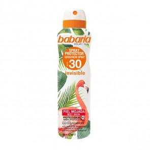 Babaria Spray Protector SPF30 Tropical Protección Invisible Piel Mojada 200 ml
