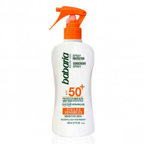 Babaria Spray Protector SPF50+ Pieles Sensible 200 ml