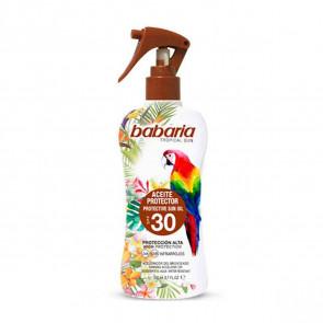Babaria Tropical Sun Aceite Protector SPF30 200 ml