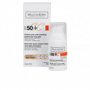 Bella Aurora SOLAR Crema Color Anti-Manchas Protección Muy Alta SPF50 Tono Claro 50 ml