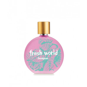 Desigual FRESH WORLD WOMAN Eau de toilette 100 ml