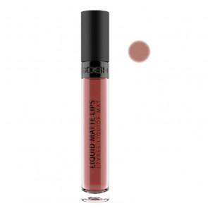 Gosh Liquid Matte Lips - 007 Nougat crisp
