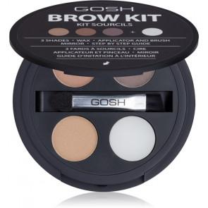 Gosh Lote BROW KIT Set para el cuidado de cejas