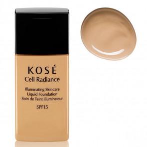 Kosé CELL RADIANCE Illuminating Liquid Foundation 201 Natural Beige 30 ml