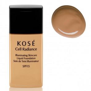 Kosé CELL RADIANCE Illuminating Liquid Foundation 203 Deep Beige 30 ml