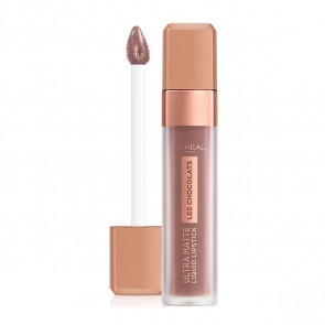 L'Oréal LES CHOCOLATS Ultra matte Liquid Lipstick 848 Dose Of Cocoa