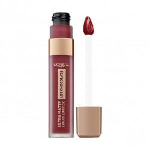 L'Oréal LES CHOCOLATS Ultra matte Liquid Lipstick 864 Tasty Ruby