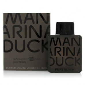 Mandarina Duck PURE BLACK Eau de toilette Vaporizador 100 ml