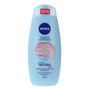 Nivea ARCILLA HIBISCUS & WHITE SAGE Gel de ducha 500 ml