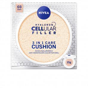 Nivea HYALURON CELLULAR FILLER 3in1 Care Cushion 03 Dark 15 gr
