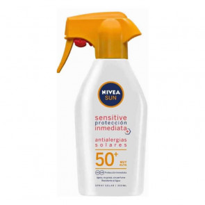 Nivea SUN ANTIALERGIAS SOLARES Sensitive SPF50+ Spray 300 ml