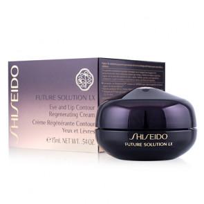 Shiseido FUTURE SOLUTION LX Eye and Lip Contour Regenerating Cream Corrector antiedad ojos y labios 15 ml