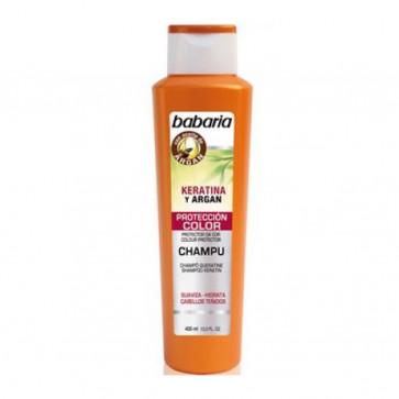 Babaria KERATINA Y ARGAN Shampoo Colour Protector 400 ml