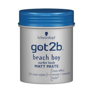 Schwarzkopf GOT2B BEACH BOY Matt Paste Sufer Look 100 ml