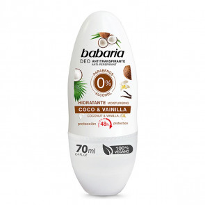 Babaria COCO & VAINILLA Desodorante roll-on 70 ml