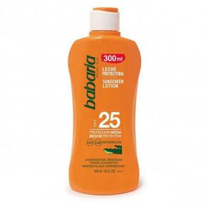 Babaria Leche protectora SPF25 Aloe Vera 300 ml