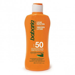 Babaria Leche protectora SPF50 Aloe Vera 200 ml