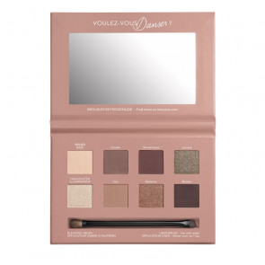 Bourjois PALETTE YEUX 4-EN-1 Paleta de sombra de ojos - 01 Place de l'opera-rose nude edition