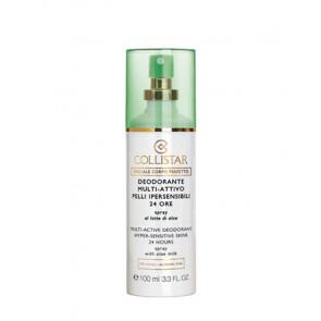 Collistar PERFECT BODY Deo Hyper Sensitive Desodorante vaporizador 100 ml