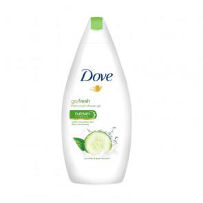 Dove GO FRESH PEPINO & TÉ VERDE Gel de ducha 500 ml