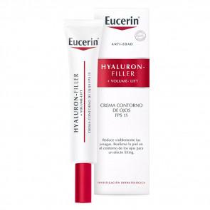 Eucerin Hyaluron-Filler+Volume-Lift Contorno de Ojos SPF15 15 ml