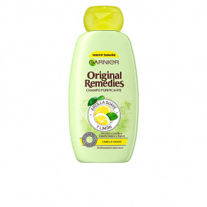 Garnier Original Remedies Arcilla suave y Limón Champú 300 ml