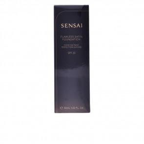 Kanebo SENSAI Flawless Satin Foundation 102 Ivory Beige 30 ml