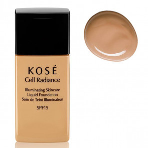 Kosé CELL RADIANCE Illuminating Liquid Foundation 202 Medium Beige 30 ml