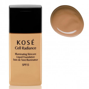 Kosé CELL RADIANCE Illuminating Liquid Foundation 203 Deep Beige 30 ml