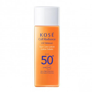 Kosé CELL RADIANCE UV Defencer Sun Care Lotion SPF 50+ 50 ml