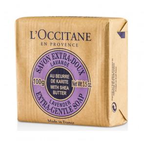 L'Occitane Jabón Extra-Suave Lavanda Al Karité 100 g