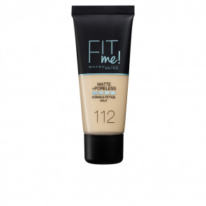Maybelline Fit Me Matte+Poreless Foundation - 112 Soft beige 30 ml