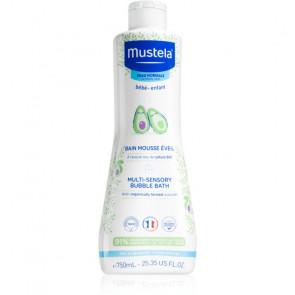 Mustela MULTI SENSORY BUBBLE BATH Gel de ducha 750 ml