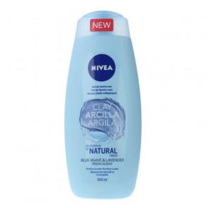 Nivea ARCILLA BLUE AGAVE & LAVENDER Gel de ducha 500 ml