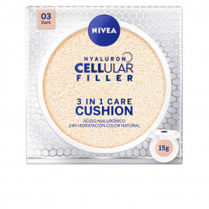 Nivea HYALURON CELLULAR FILLER 3in1 Care Cushion 03 Dark 15 gr