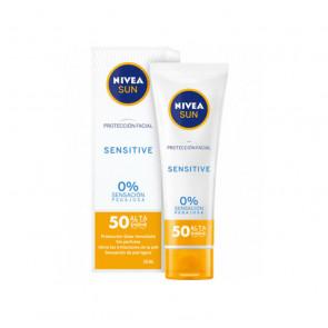 Nivea SUN FACIAL Sensitive SPF50 50 ml