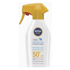 Nivea SUN NIÑOS PROTEGE&JUEGA Sensitive SPF50+ Spray 300 ml
