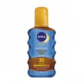 Nivea SUN PROTEGE & BRONCEA Sun Oil SPF30 200 ml